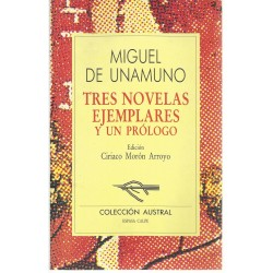 Tres Novelas Ejemplares y...