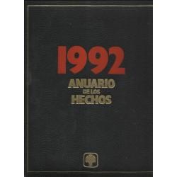 Anuario de los hechos 1992....