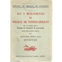 Ley y Reglamento de policía...