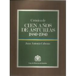 Crónica de cien años de...